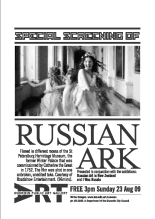 Russian Ark screening at DPAG