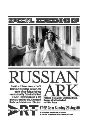 Russian Ark screening at DPAG