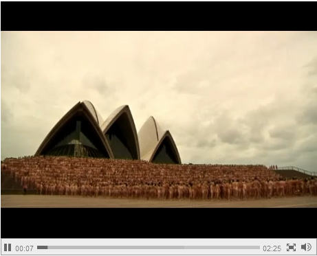 Spencer Tunick at Sydney Opera House