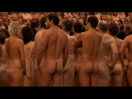 Spencer Tunick at The Sydney Opera House