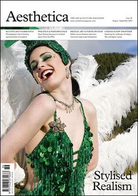 aesthetica magazine cover