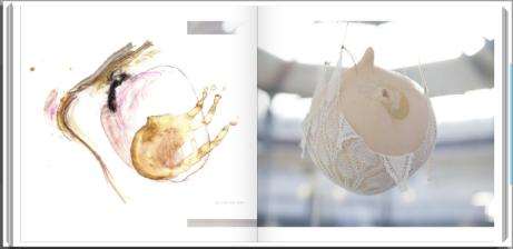 Graphic Design   Tender Weight Artist Book (2014) Rachel K Gillies